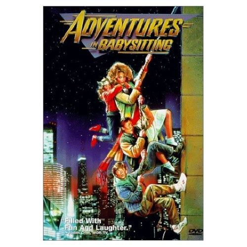 Adventures in Babysitting (1987): Begins with an awesome track and then ends with a requisite 80s song + dance number.  Also, Elisabeth Shue!