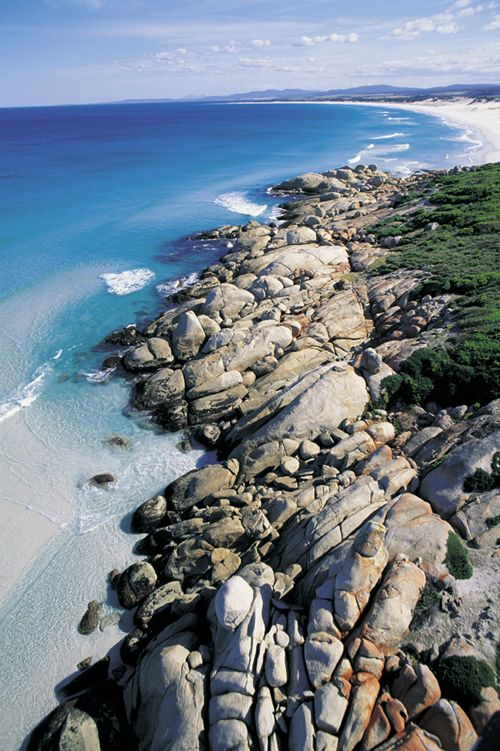 Cosy Corner (North), Bay of Fires Conservation Area, Tasmania, Australia