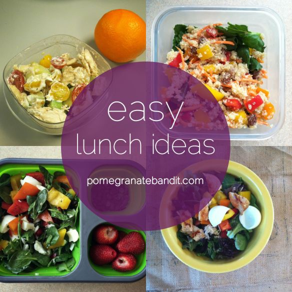Easy lunch ideas - adult version.