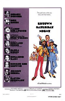 Uptown Saturday Night is a 1974 comedy film written by Richard Wesley, and directed by Sidney Poitier, who also stars in this film, along wi...