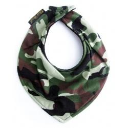 Babero bandana camuflaje