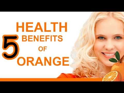 5 Health benefits of Orange - YouTube