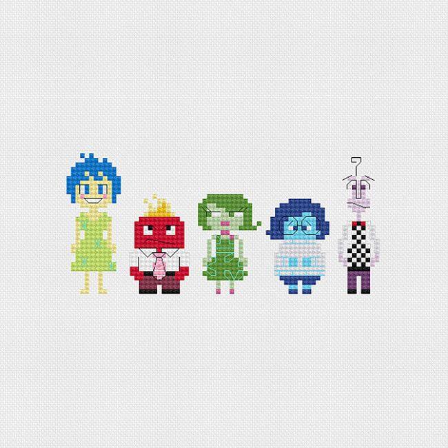 Pixelsinstitches: los patrones de punto de cruz que son un...