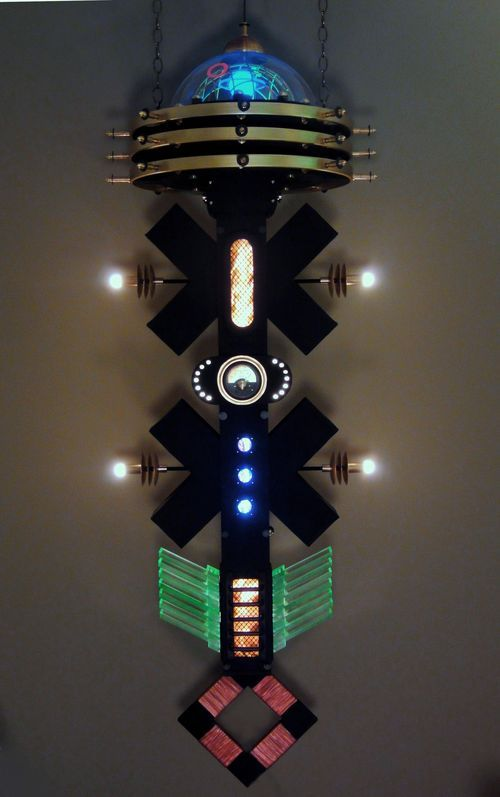 The Ravi Palace Steampunk Pendant Lamp Device By Art Donovan Great Ideas