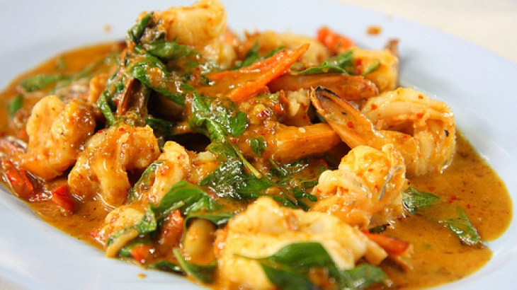 "rathu Isso Curry"" Sri Lankan Red Prawn Curry - Another Sri Lankan ..."