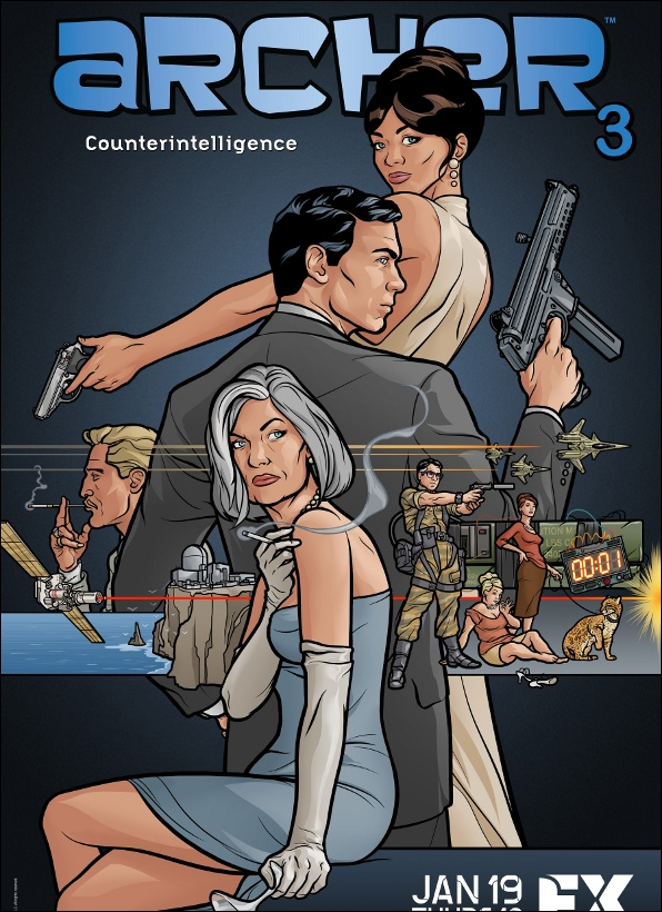 TV Season #9 - Archer: Season 3