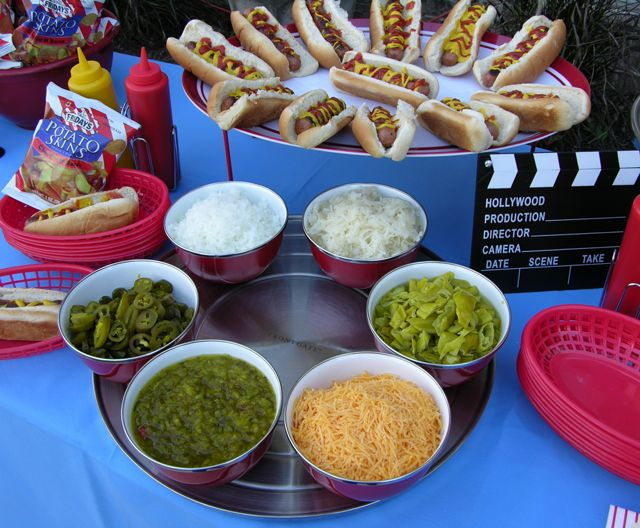 Backyard Party Menu Ideas cucumber salad Party Theme Host An Outdoor Movie Night Party