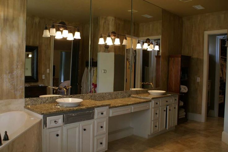 bathroom makeup vanity ideas - Google Search