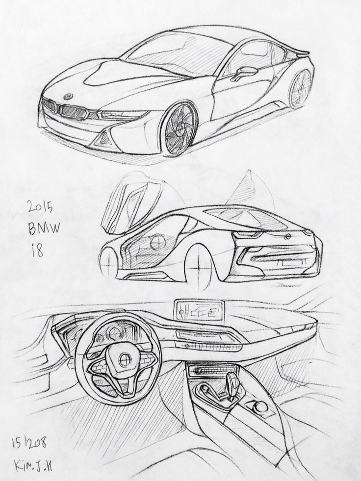 32 best Car Drawing images on Pinterest   Old cars, Car drawings and ...