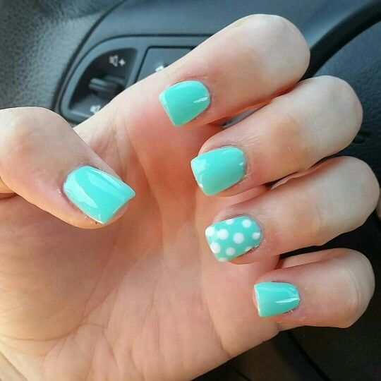 Tiffany Blue Gel Nail Polish: 1000+ Ideas About Tiffany Blue Nails On Pinterest