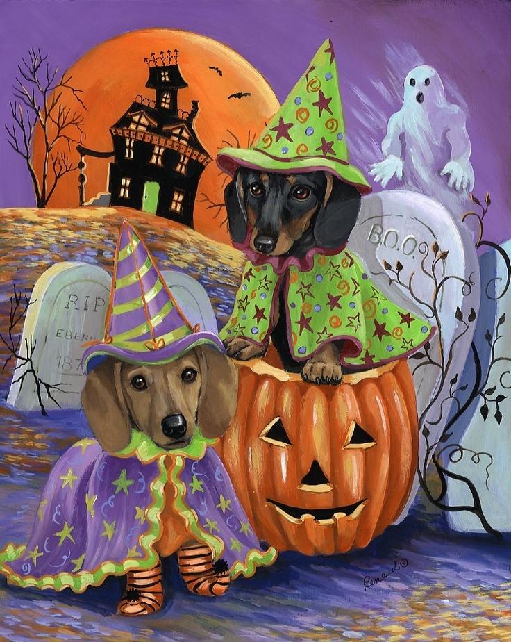 Dachshund Halloween