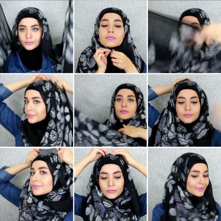 Muslim queens hijab tutorial