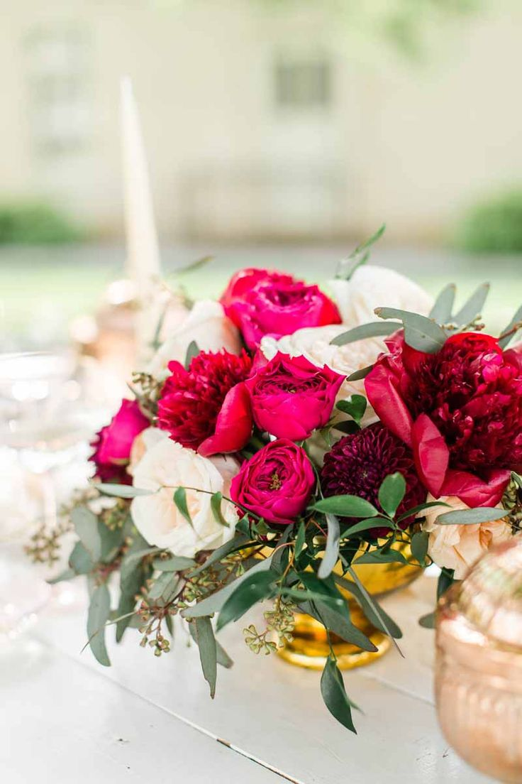 Elegant rose colored wedding inspiration.