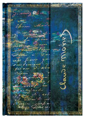Monet (Water Lilies), Letter to Morisot Midi Writing Journals, Blank Books Paperblanks  Lined 978-1-4397-1209-2