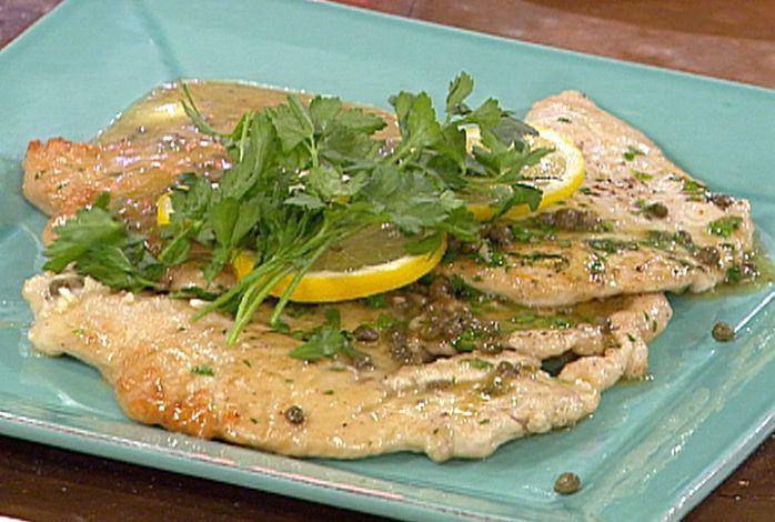 Turkey Scallopine a la Piccata Recipe : Emeril Lagasse : Food Network - FoodNetwork.com