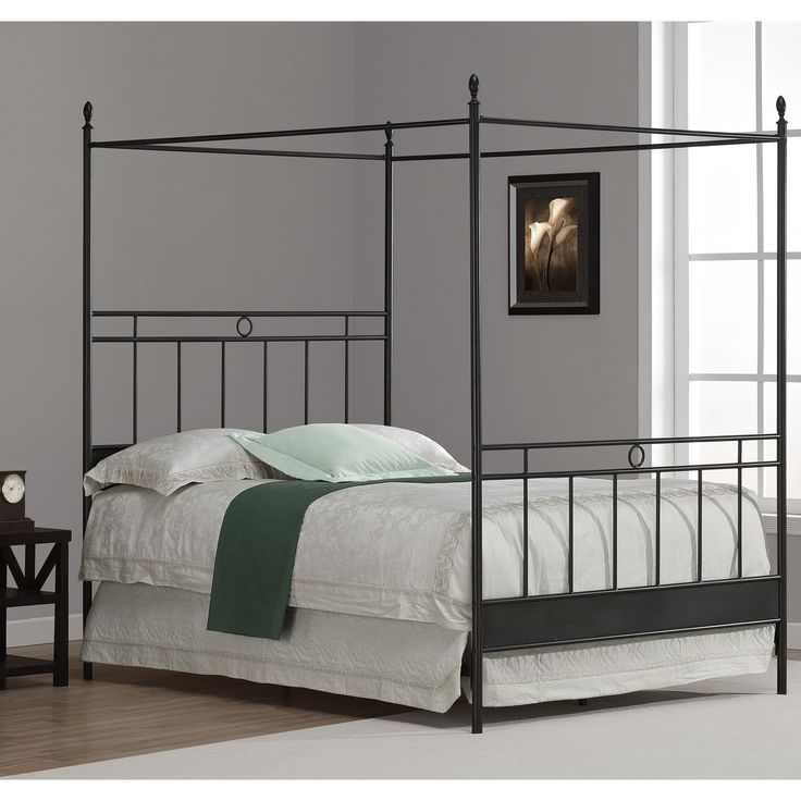 Cara Full Metal Canopy Bed  sc 1 st  Pinterest & Best 25+ Full size canopy bed ideas on Pinterest | Canopy bed ...