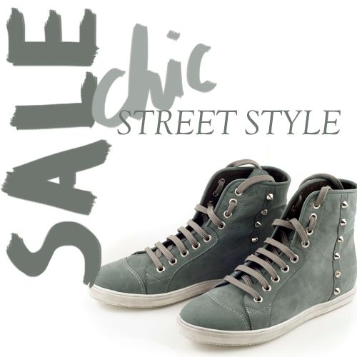 Vote for fashion! Sales up to 40%. Chaniotakis sneaker boots
