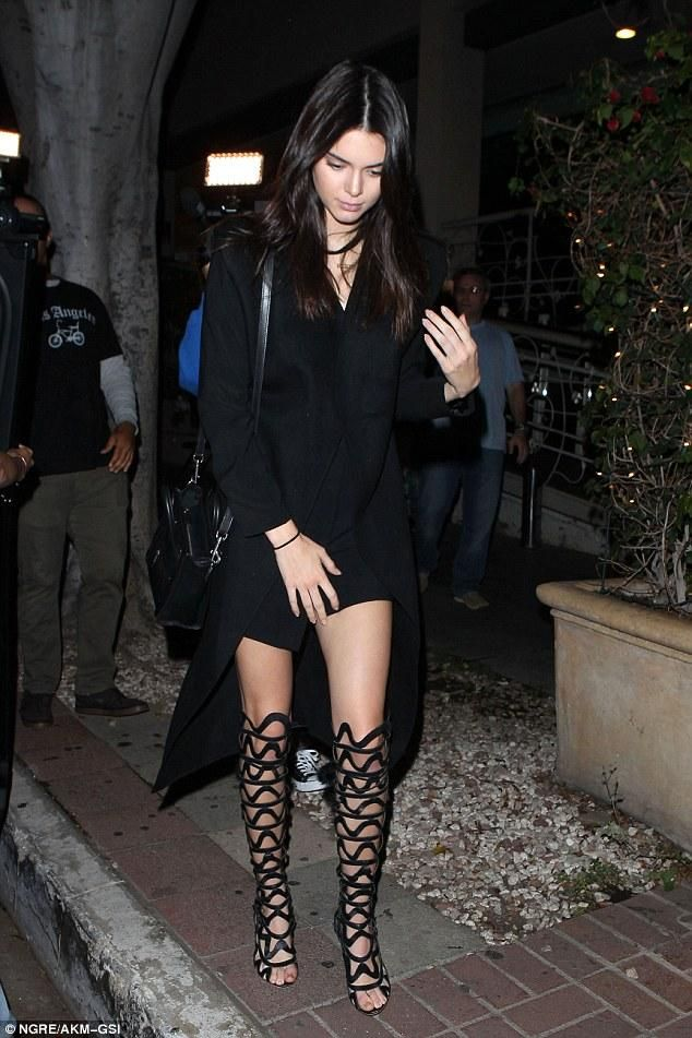 Kendall Jenner Los Angeles July 8 2015 Nice Nano Bag And Bags