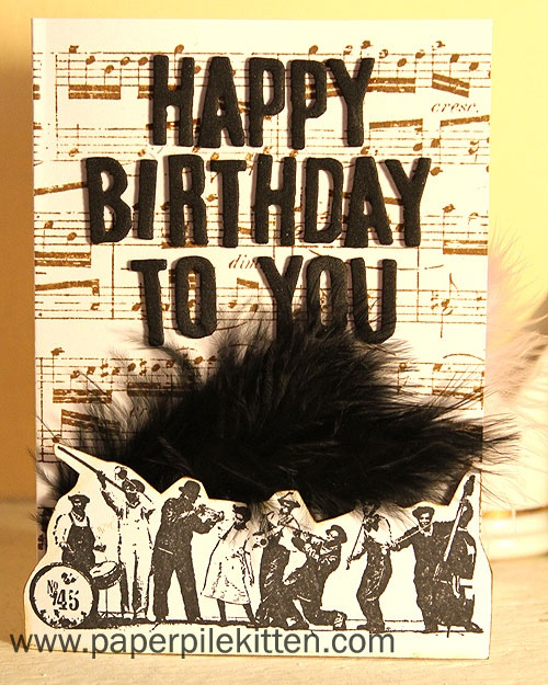 23 best Music Theme Cards images – Themed Birthday Cards