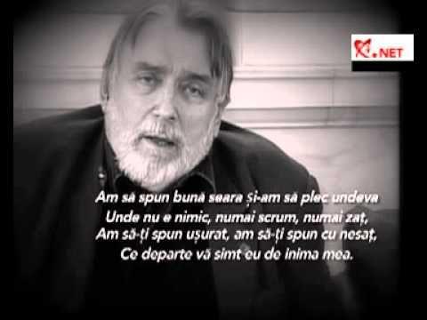 La adio, Adrian Paunescu