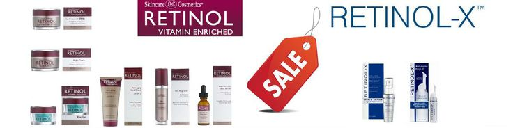 We have a sale until 31st March on Retinol Anti Ageing Creams and Retinol X products.