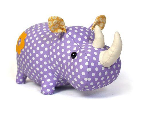 stuffed toy sewing pattern