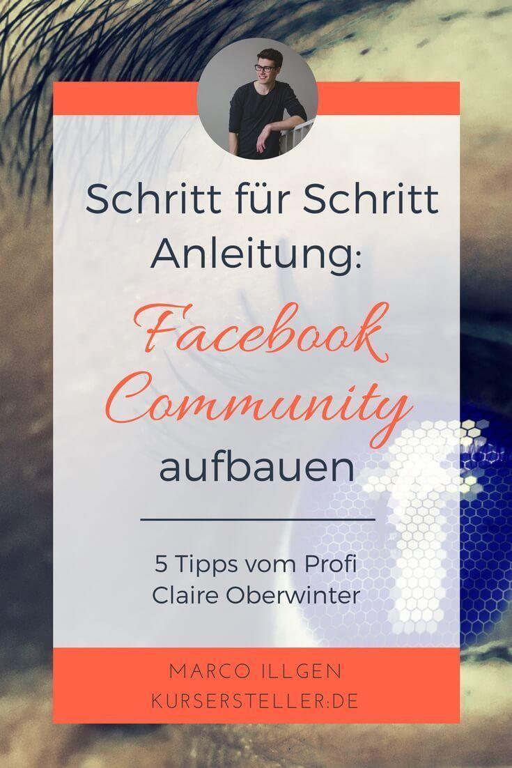 GUIDE: Wie du deine Facebook Community aufbaust mit Claire Oberwinter – B2N Social Media Services | Social-Media-Beratung