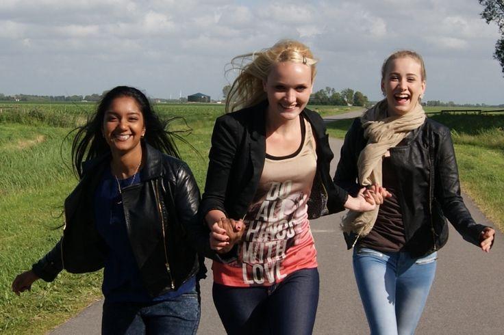 Running chicks