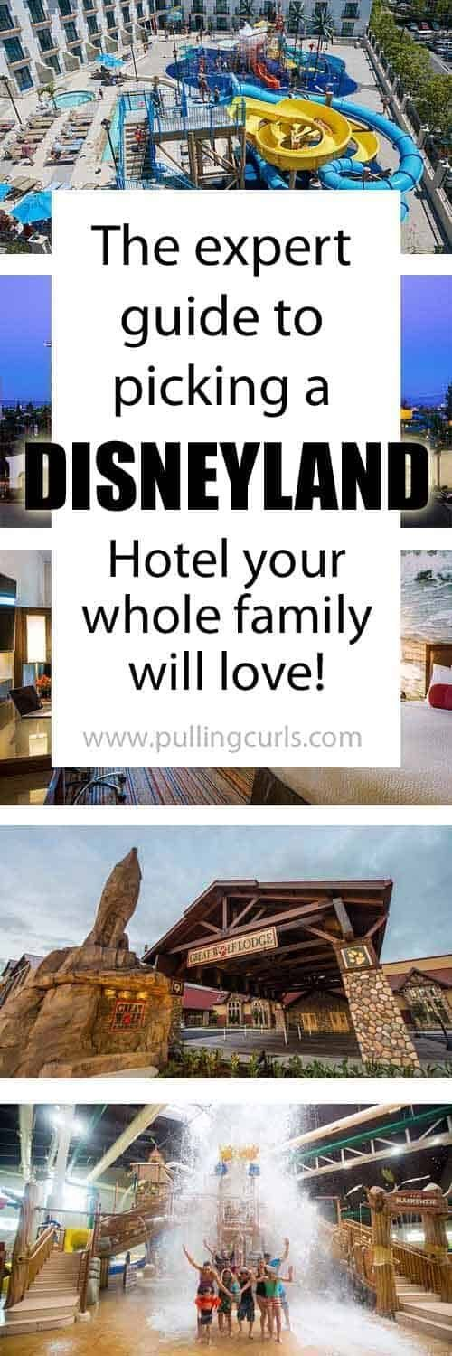 Disneyland Family Packages: Pick the best Disneyland Hotel / walkable /good neighbor / CourtYard / Great Wolf / Desert Palms / Knights  rooms, anaheim, parks, California, suites, secrets, map, cheap.  via @pullingcurls