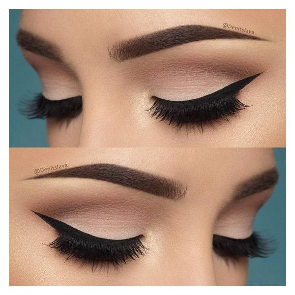 Instagram photo by @denitslava • Mar 11, 2016 at 8:11pm UTC ❤ liked on Polyvore featuring beauty products, makeup, eye makeup, eyes and beauty