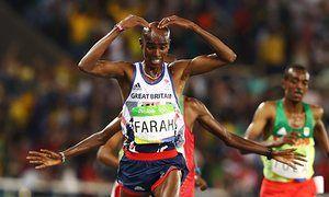 Rio 2016: Mo Farah wins 10,000m gold, USA's Henderson wins long jump – live!