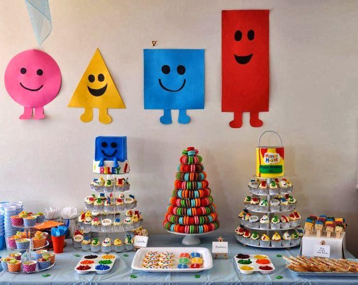 mister maker decoracin de fiestas infantiles fiestas y todo eventos with fiesta cumpleaos aos