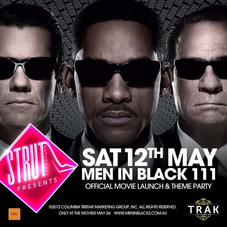 MEN IN BLACK 3  MOVIE LAUNCH- Saturday 12th May