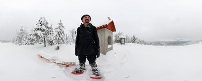Snowshoeing at Polana Skalne