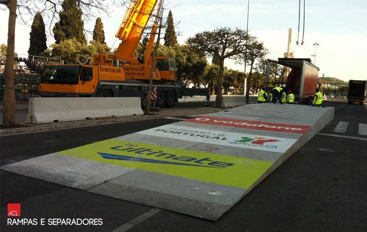 Veja como Ficou! Rally Portugal - CCB Rampas e Separadores ACL -- Take a look! Rally Portugal - CCB ACL Ramps and Separators  #acl #acimenteiradolouro #obrarealizada #rally #rampas #separadores #betao #workdone #architecture #architektur