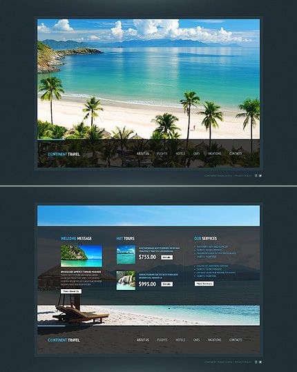 79 best One Page Website Templates images on Pinterest | Website ...