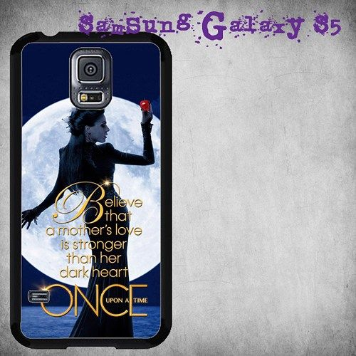 Once Upon a Time Regina Evil Queen Print On Hard Plastic For Samsung Galaxy S5 , Black Case  Description:  Create special case by using your favorite photos or thoughts to inspire and motivate you eve