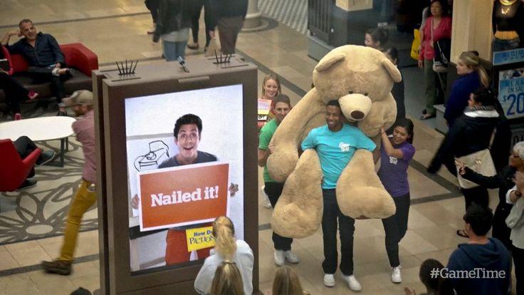 Pictionary Mall Surprise | Mattel Games // #billboard