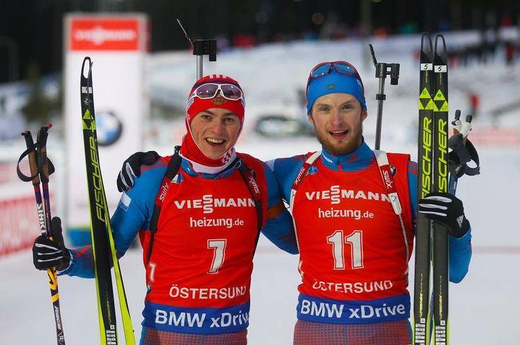 Babikov and Cvetkov. Oestersund 2016