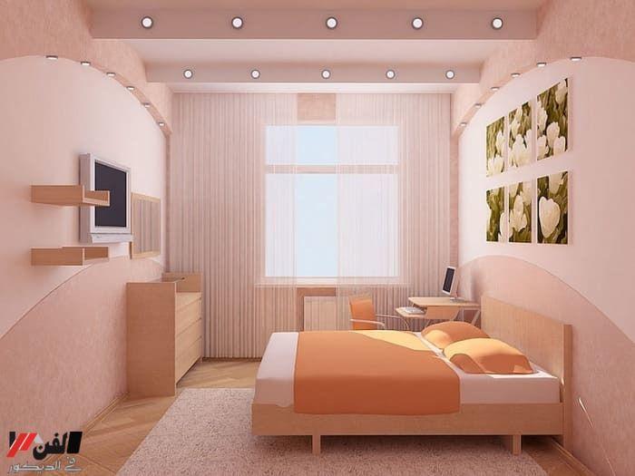 9 افكار غرف نوم صغيرة لجعلها تبدو اكبر ومريحة Bedroom Design House Furniture Design Home Decor