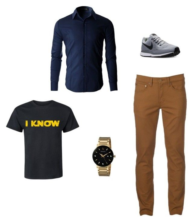 man style by tereza17-novakova17 on Polyvore featuring Urban Pipeline, NIKE, Bulova, men's fashion and menswear