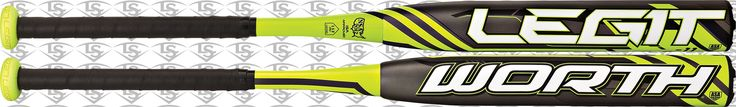 Worth Legit ™ FPLG11 -11 Fastpitch Softball Bat