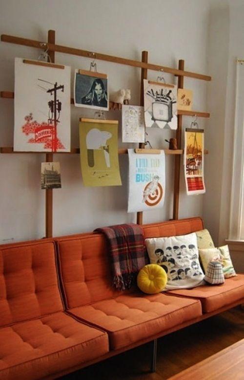 Fácil e barato: decore sua casa com pôsters | ATL Girls