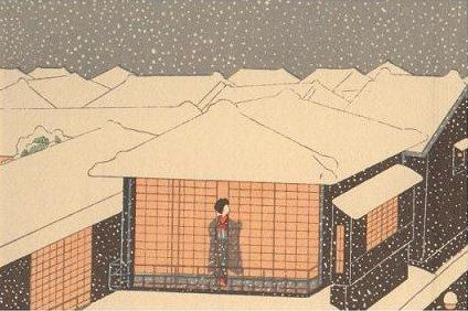 小村雪岱「日本橋」