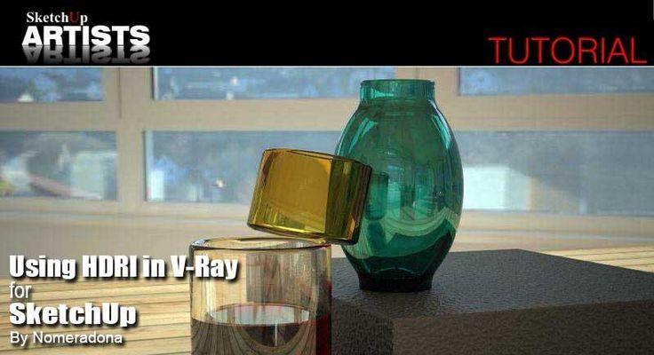 Using HDRI in V-Ray by Nomer Adona