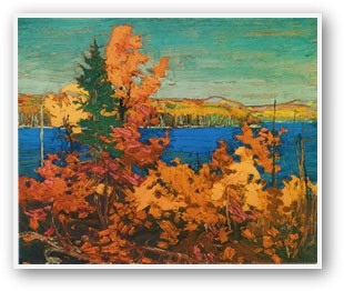 Tom Thomson Autumn Foliage
