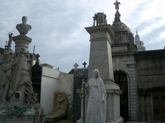 Buenos Aires. Top 25 Haunted Places around the World http://travelblog.viator.com/top-haunted-places-around-the-world/ #halloween #travel