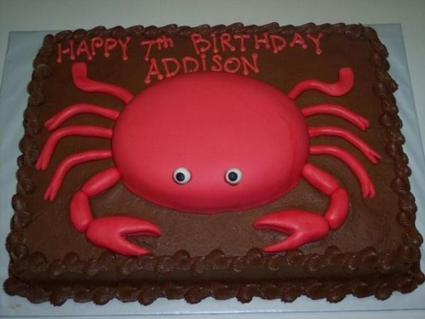 Crab Birthday Cake Bing Images Crab Birthday Cakes