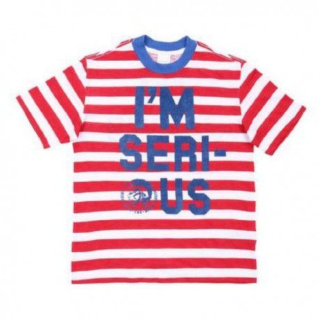 T-SHIRT DIESEL KID T-Shirt per bambino della Diesel Kid in jersey fiammato con fantasia a righe e stampa serigrafata fronte e retro, girocollo e maniche corte. T-Shirt Diesel Kid per la vita di tutti i giorni. #diesel #dieselkid #t-shirt #maglietta #jersey #bambino #ragazzo #boy #baby #kid #junior #teen #child #children #abbigliamento #clothing #shoponline #ecommerce #fashion #moda #saldi #sconti #promozioni