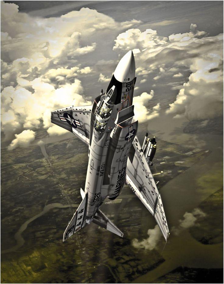 McDonnell-Douglas F-4 Phantom 'Mig Killers'. Antonis Karidis